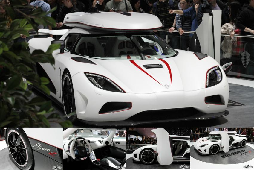 Koenigsegg Agera Geneva Motor Show