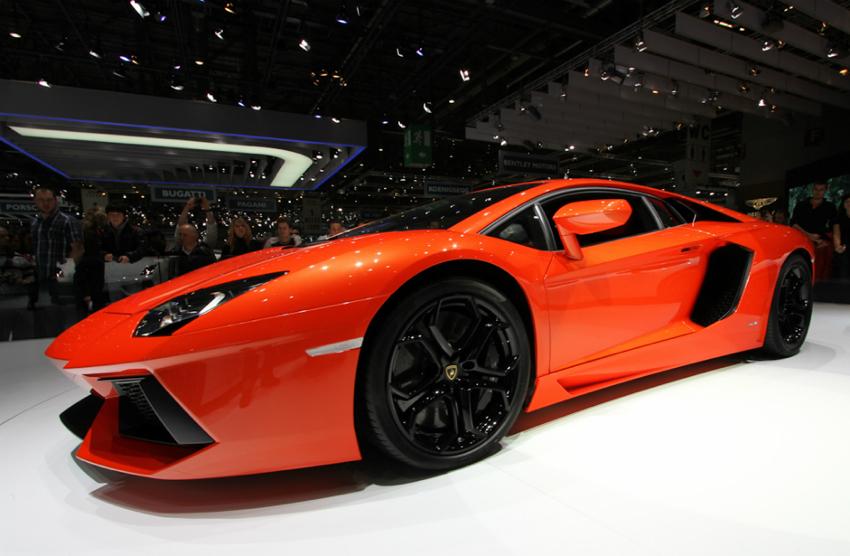 Lamborghini Aventador Geneva Geneva Motor Show