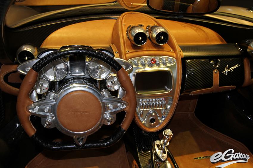 Pagani Huayra Interior Geneva Motor Show