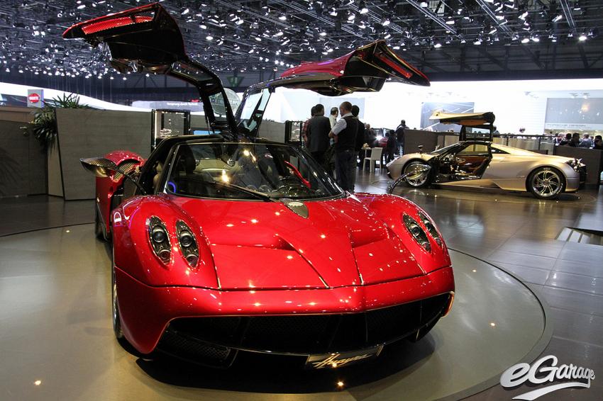 Pagani Huayra Geneva Motor Show