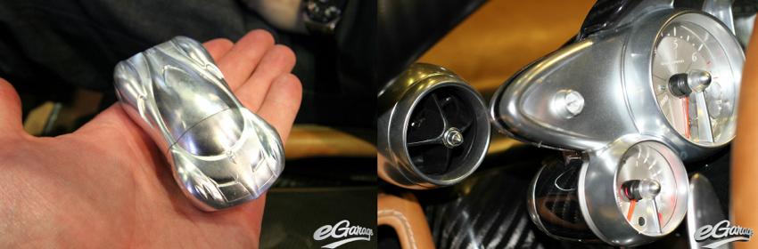 Pagani key Geneva Motor Show