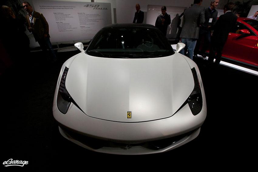 Ferrari 458 matte white McCall Motorworks Revival