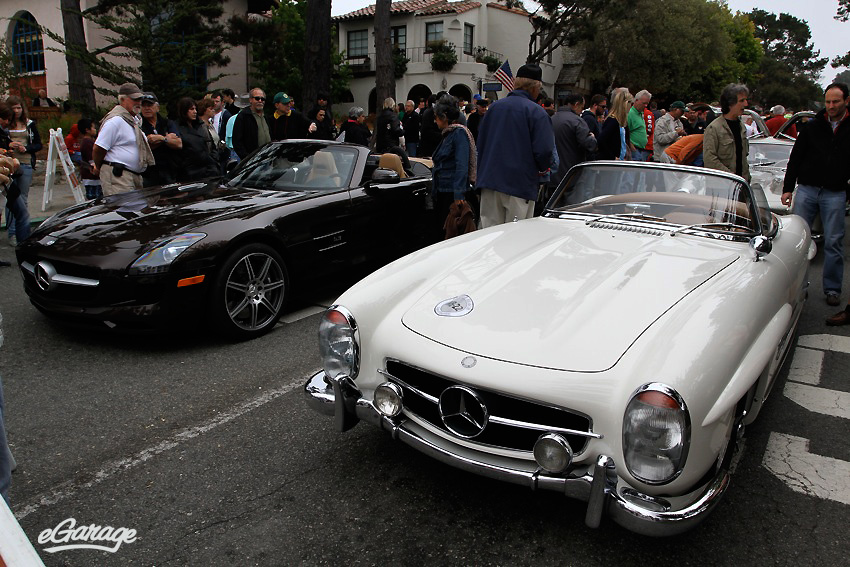 Mercedes Benz roadsters Carmel by the Sea: Ocean Ave