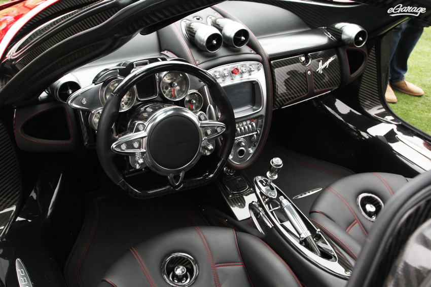Pagani Huayra interior Horacio Pagani and the Huayra