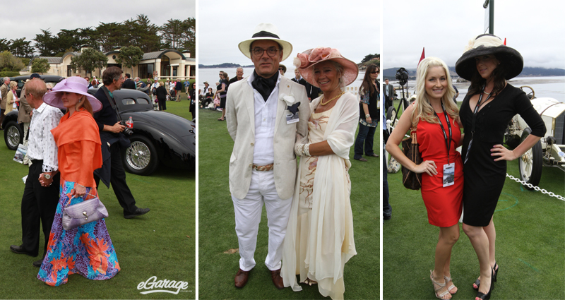 Pebble Beach concours hats Pebble Beach: Passion for Fashion