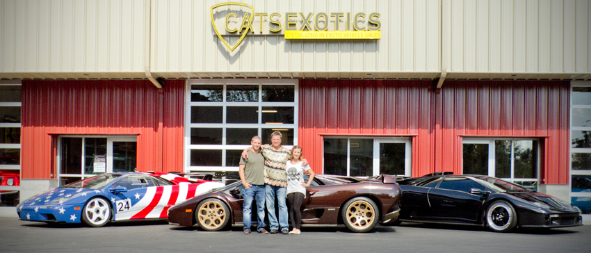 cats Exotics Team exotic car dealer seattle wa