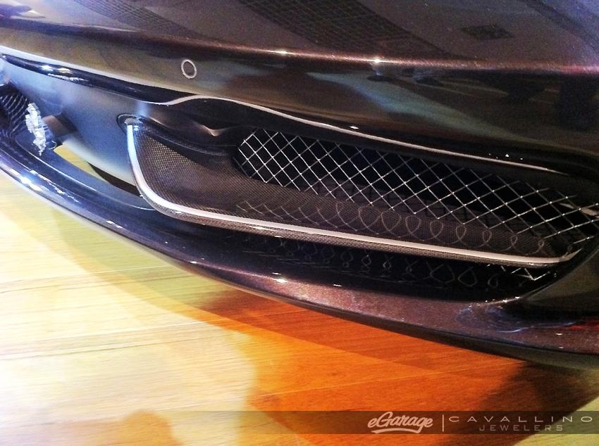 458 spider carbon grill Ferrari 458 Spider