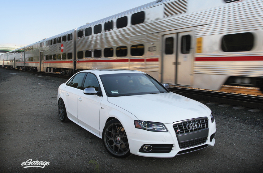 Audi S4 HRE Wheels1 Audi S4 with HRE P40S