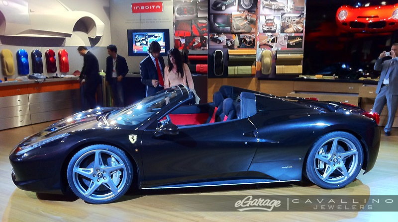 Black Ferrari 458 Spider Ferrari 458 Spider