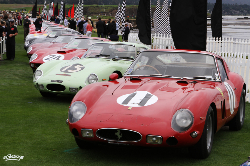 Ferrari 250 GTO reunion pebble beach Ferrari 250 GTO