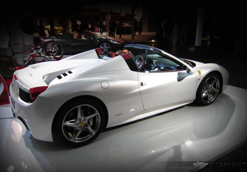 Ferrari 458 spider Bianco Ferrari 458 Spider