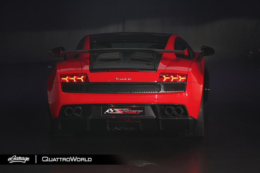 Lamborghini SuperTrofeo Stradale Rear Lamborghini Super Trofeo Stradale