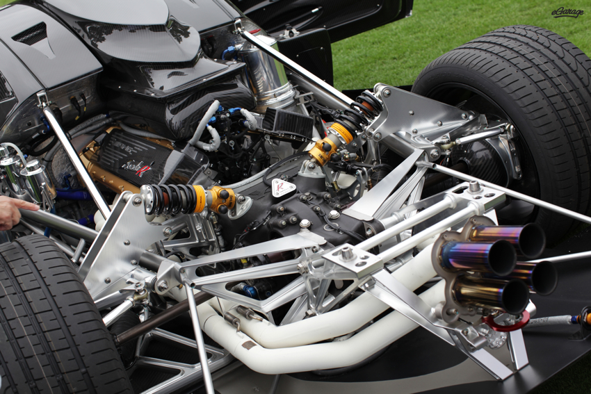 Pagani ZondaR engine Pagani Zonda R