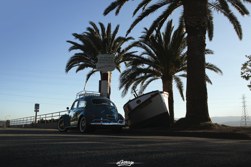 1966 VW entering the USA Beetle Juice   1966 Volkswagen Beetle