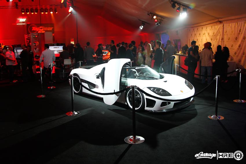 Koenigsegg CCX Xbox Forza Motorsport 4 Release Party