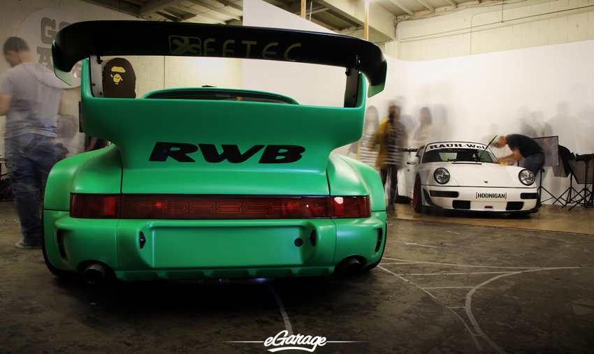 RWB Porsche ghosts RWB USA