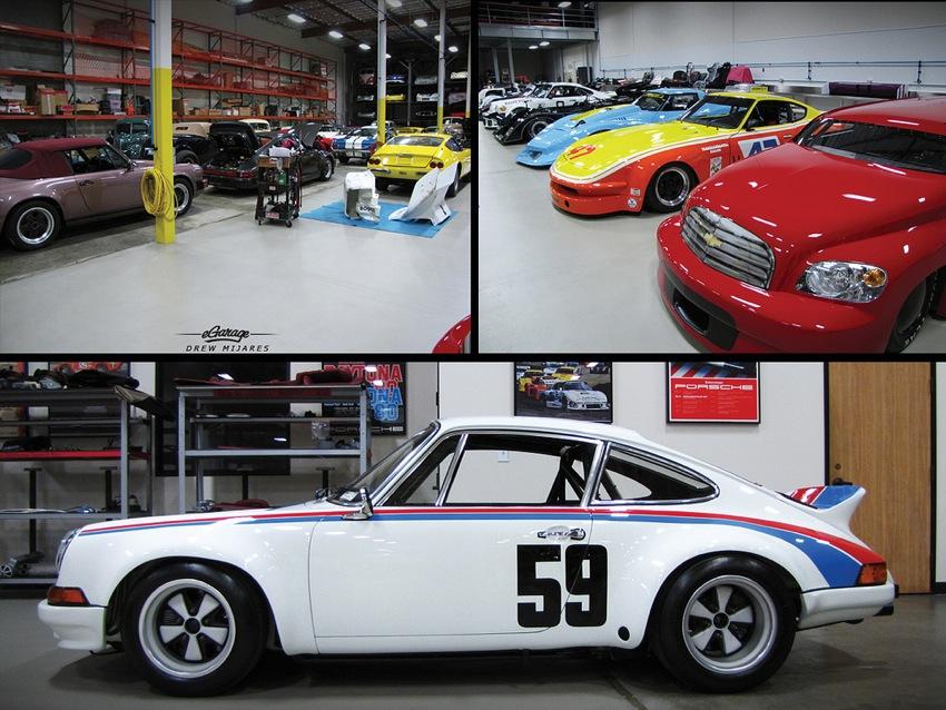 Canepa Porsche Bruce Canepa: Collector of Fast