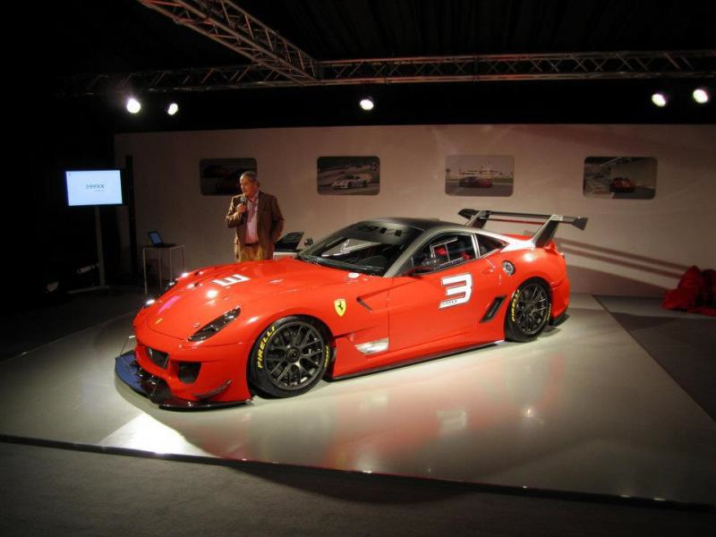 Ferrari 599XX Evoluzione 599XX EVO FERRARI 599XX EVOLUZIONE