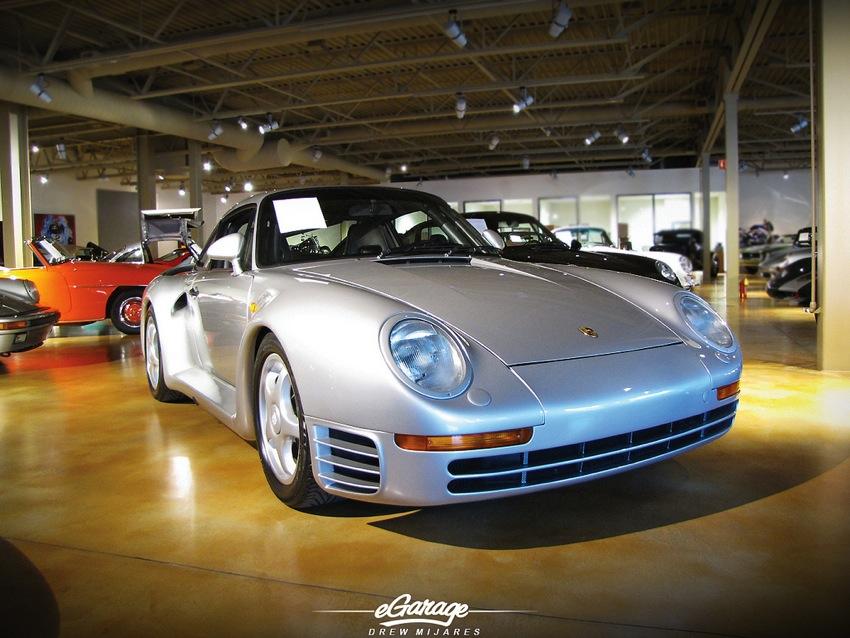 Porsche 959 Canepa Bruce Canepa: Collector of Fast