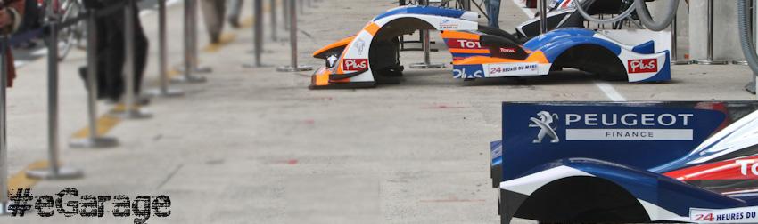 Peugeot at Le Mans