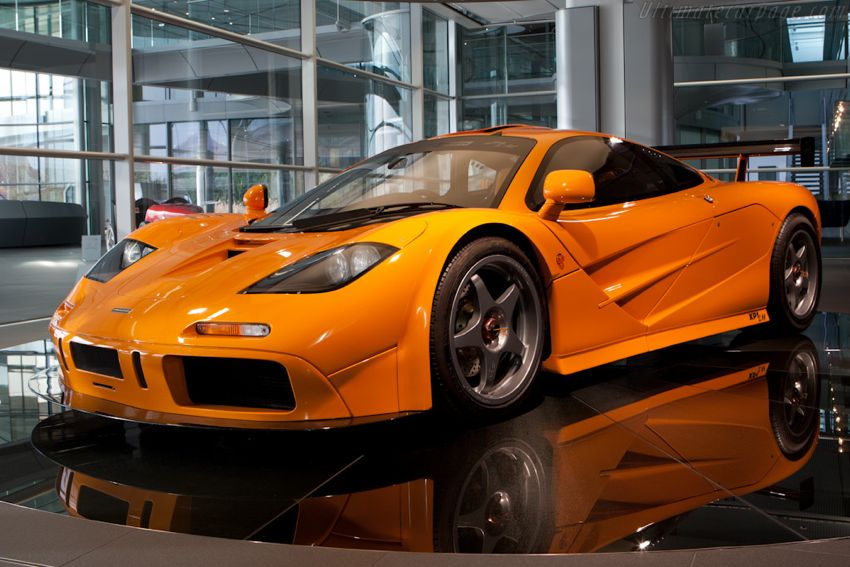 McLaren F1 LM 1 McLaren Orange