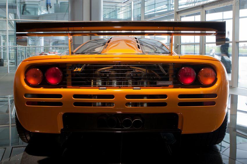 McLaren F1 LM rear McLaren Orange