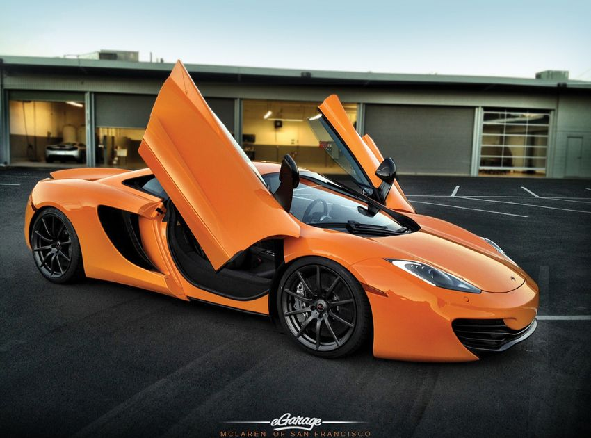 McLaren of San Francisco McLaren Orange