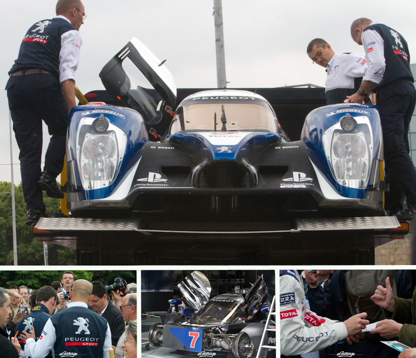 24 Hours Le Mans Peugeot 908 Team