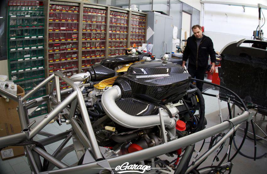 AMG V12 Pagani Factory Pagani Factory
