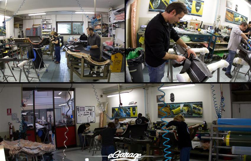 Carbon Fiber Pagani Factory Pagani Factory