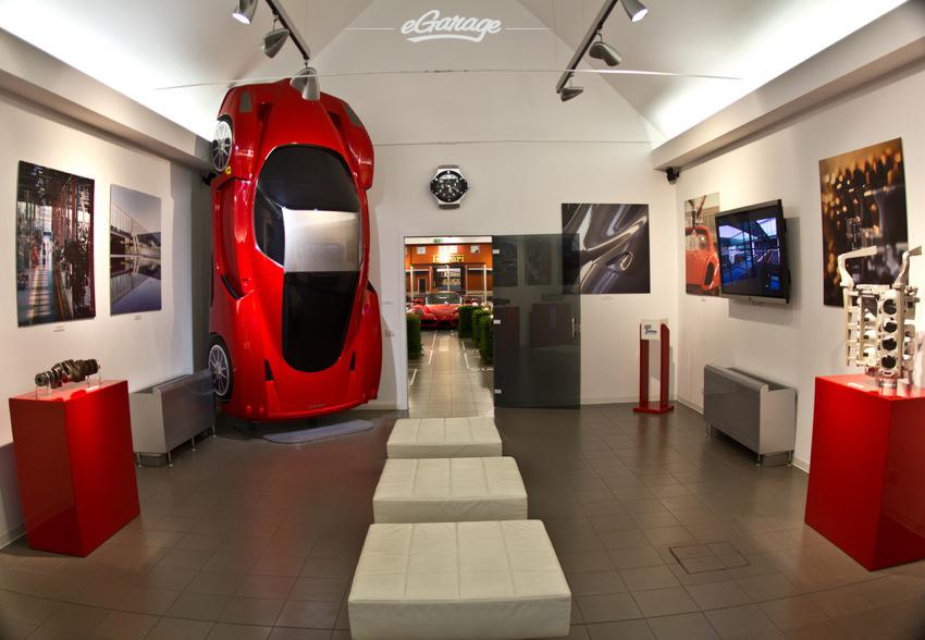 Ferrari Museum Enzo Lounge Ferrari Museum