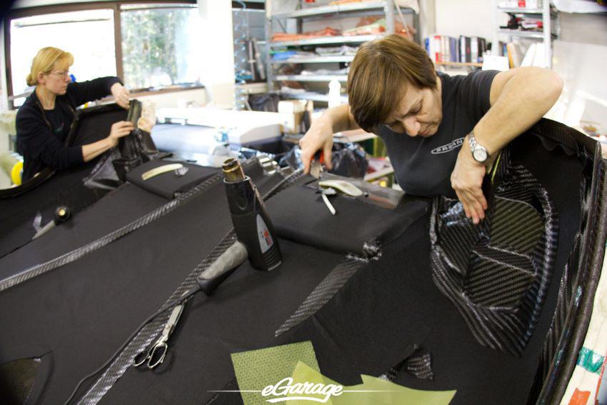 Pagani Factory Carbon Fiber Pagani Factory