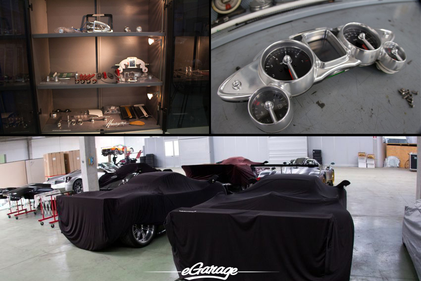 Pagani Factory eGarage Pagani Factory
