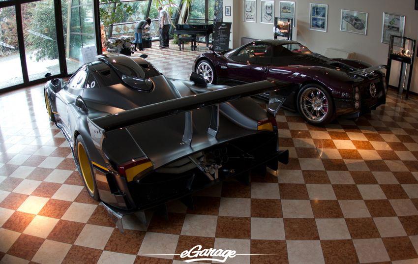 Pagani Factory lobby Pagani Factory