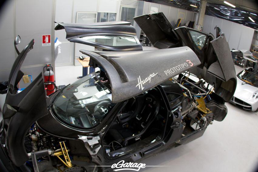Huayra prototype Pagani Factory