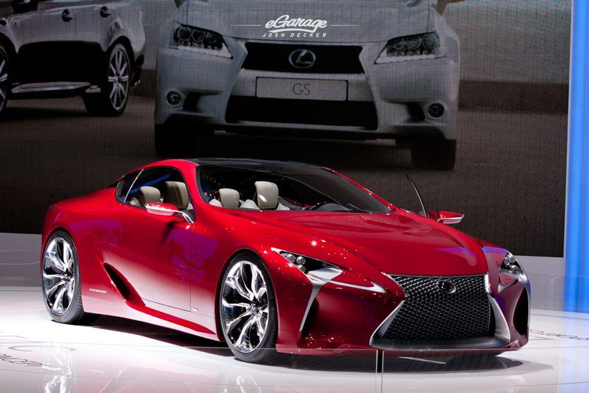 Lexus LF LC hybrid 2012 Geneva Motor Show