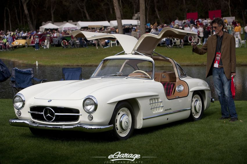 Mercedes Gullwing Amelia Island Concours 2012 Amelia Island Concours dElegance