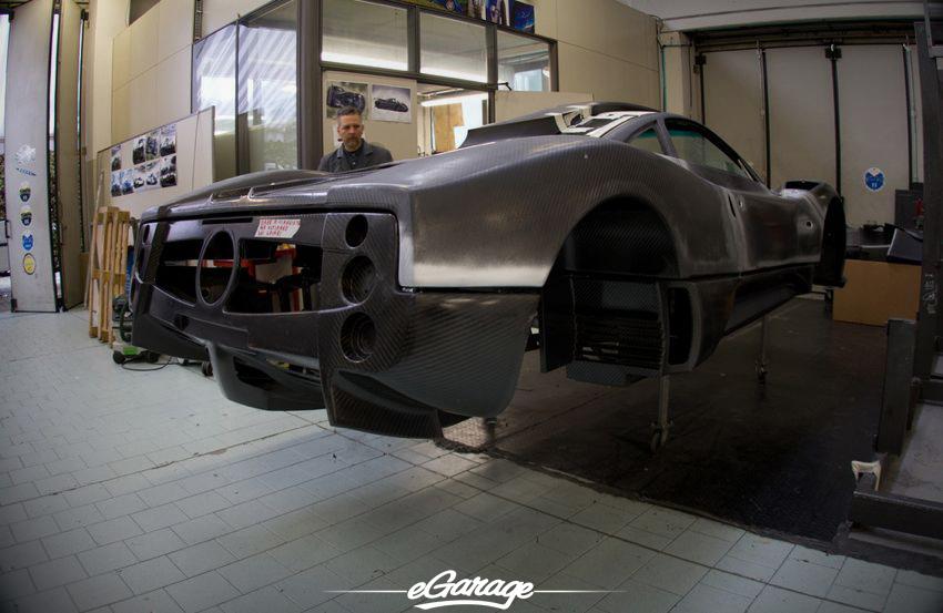 carbon Pagni Zonda S Pagani Factory