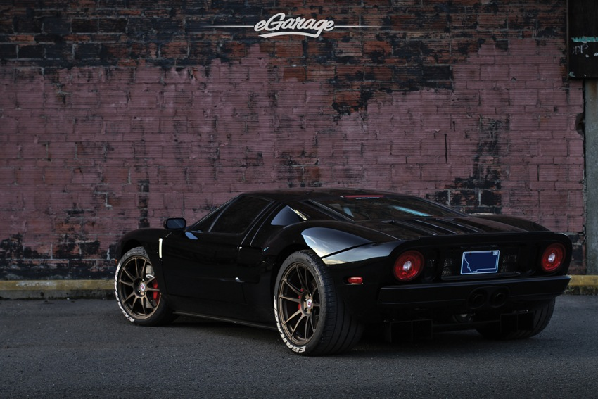 FGT rear 3 4 Ford GT and HRE Wheels P44SC