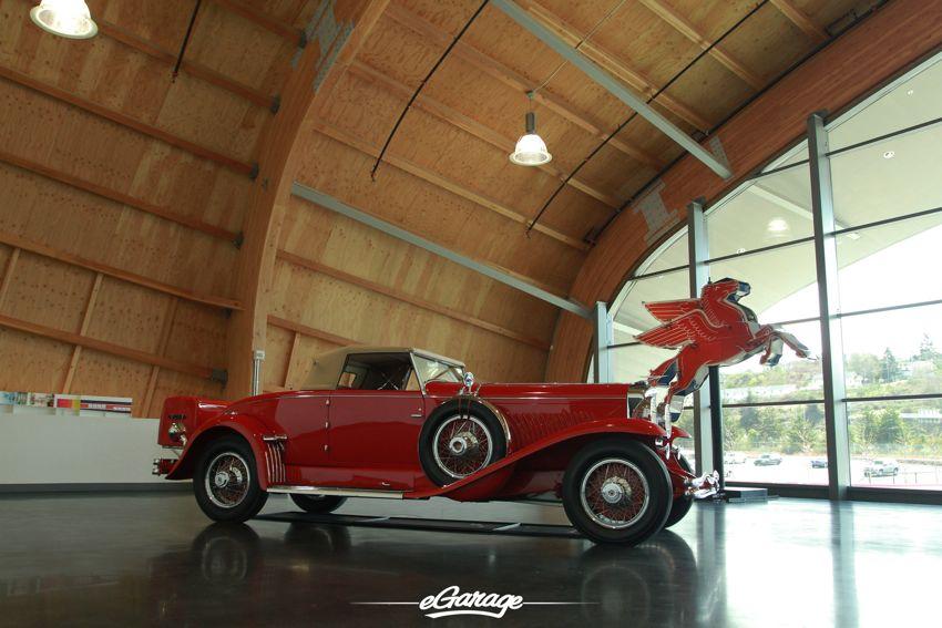 LeMay Museum main lobby LeMay Museum: Americas Car Museum