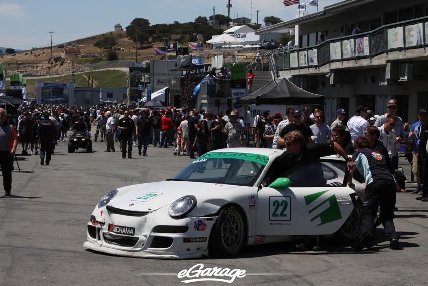 2012 ALMS MGM GT3 Porsche ALMS: Laguna Seca