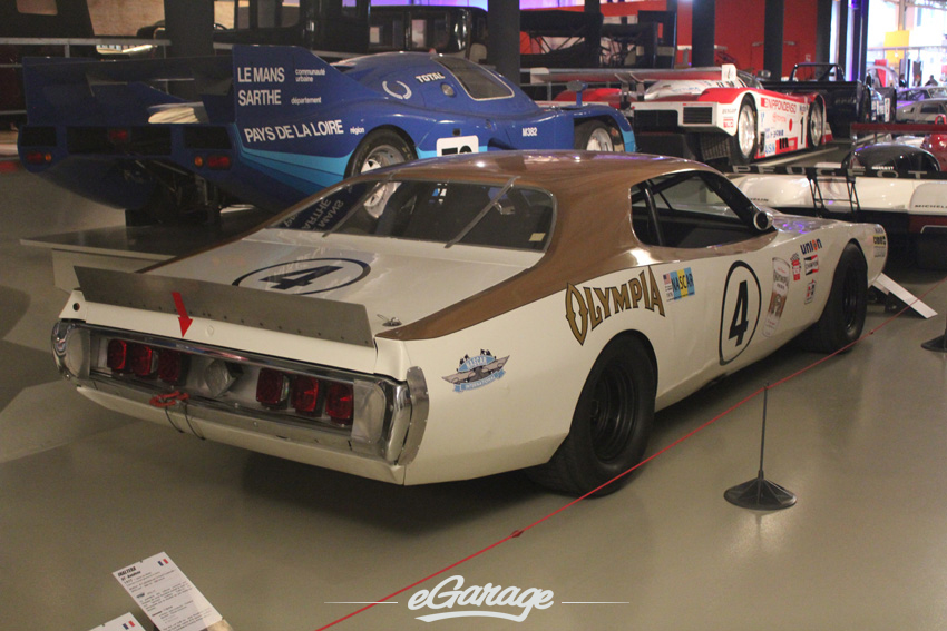 76 Charger US Nascar Cat copy Le Mans Museum