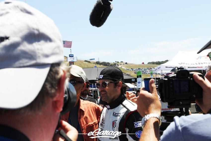 Patrick Dempsey ALMS 2012 ALMS: Laguna Seca