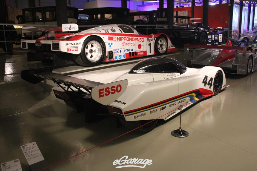 Peugeot 905 Maquette copy Le Mans Museum