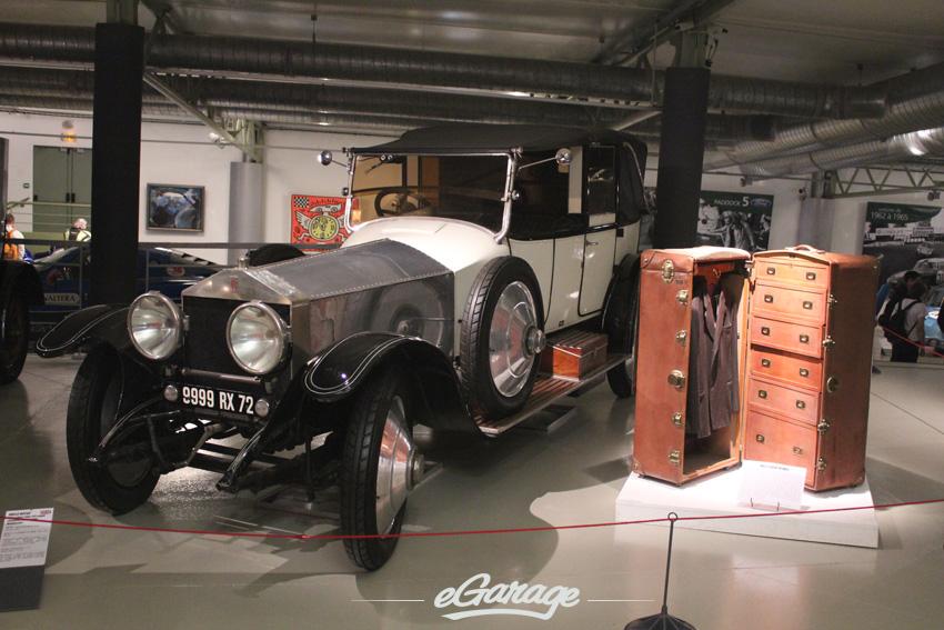 RR SilverGhost Type J141 Coupe Chauffeur decapotable Muhlbacher copy Le Mans Museum