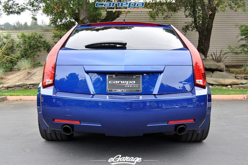 Canepa widebody CTSV wagon Canepa Cadillac CTS V Wagon