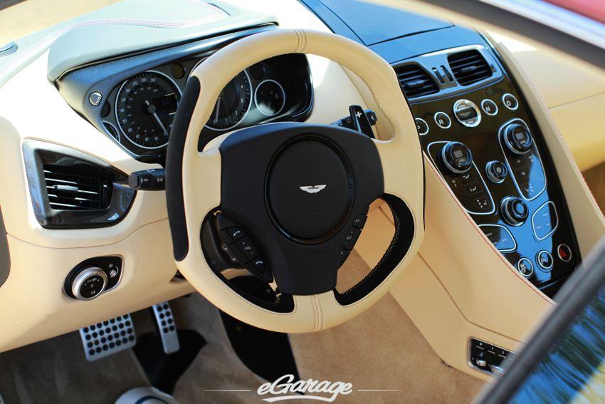 2013 Vanquish Steering Wheel 2013 Aston Martin Vanquish