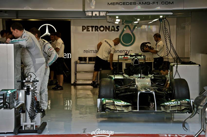 eGarage 2012 Italian Grand Prix Petronas Mercedes