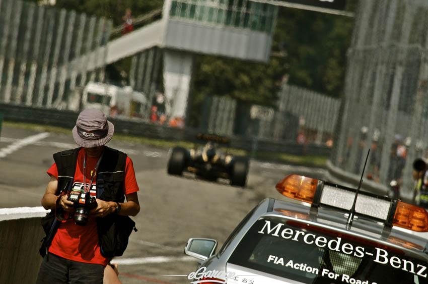 eGarage 2012 Italian Grand Prix Mercedes Pace Car