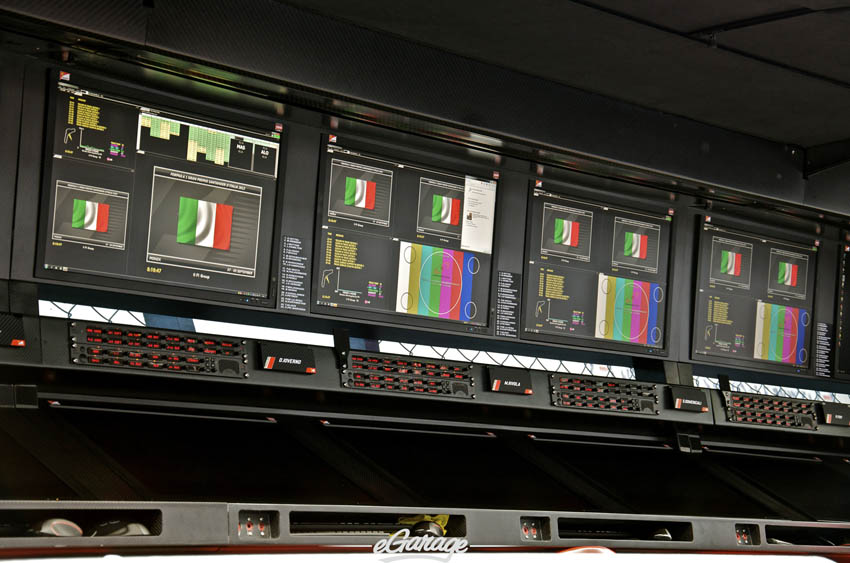 eGarage 2012 Italian Grand Prix Monitors